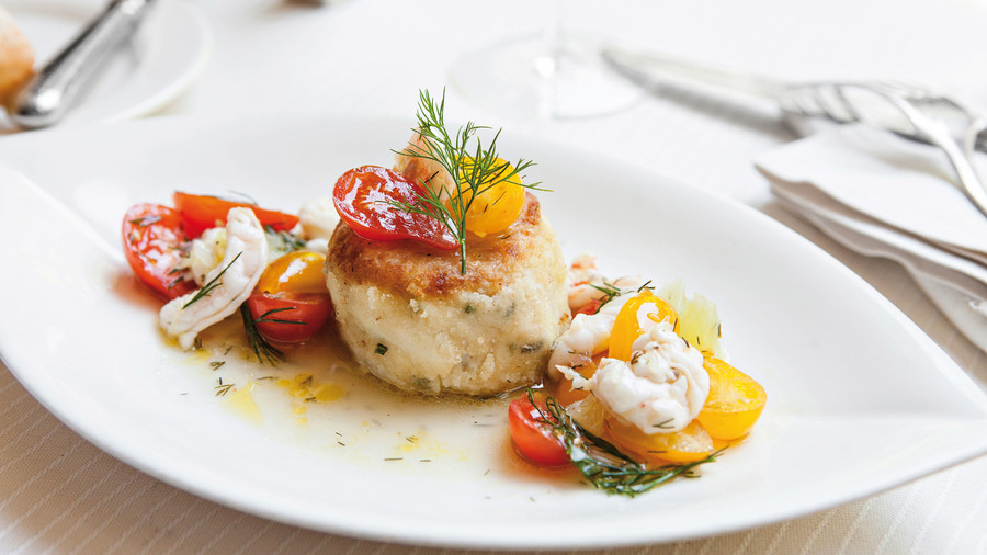 A beloved culinary landmark in culinary-crazy Charleston, chef Michelle Weaver's restaurant in the Belmond Charleston Place hotel is especially beloved for her crab cakes. Weaver's been quoted saying that the small, perfect cakes are held together...