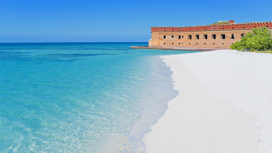 USA, Florida, Dry Tortugas National Park, Fort Jefferson