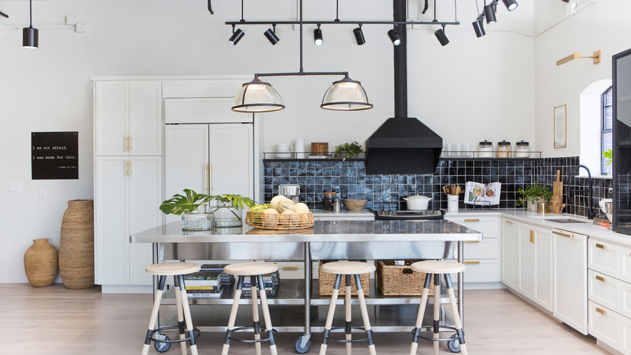 Chip and Joanna Gaines Take on Their First-Ever Apartment Renovation: See Inside