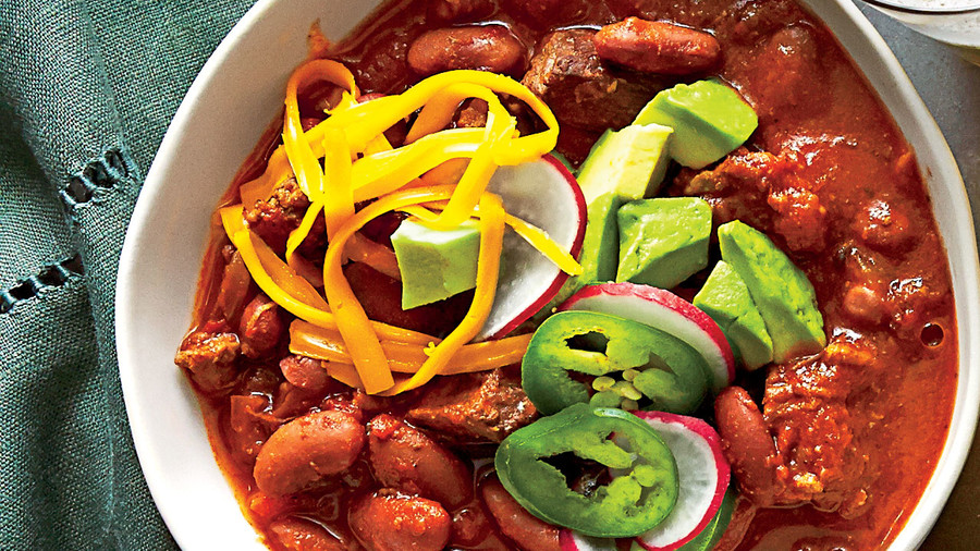 Beef-and-Bean Chili