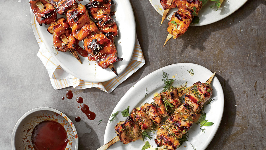 Perfect Chicken Kabobs