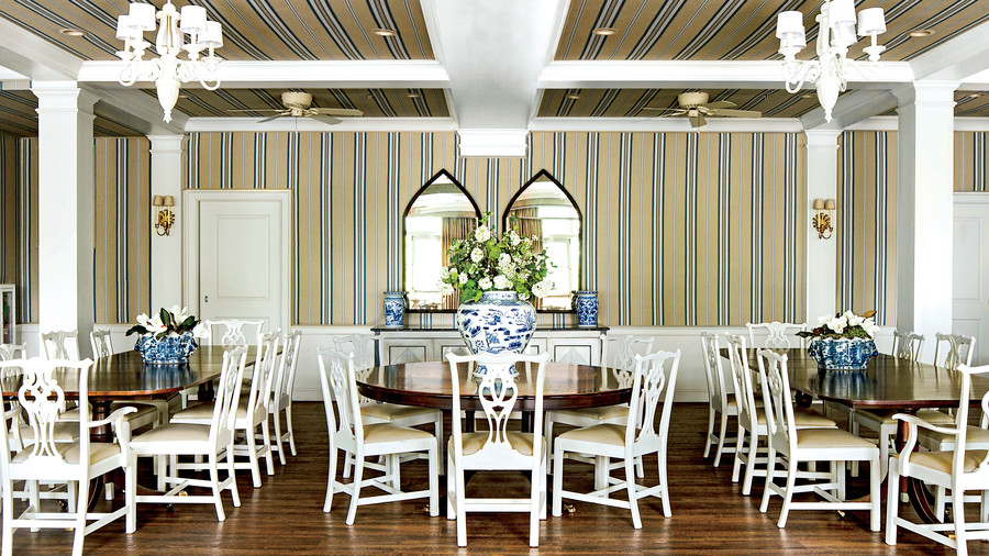 Kappa Kappa Gamma University of Arkansas Dining Room