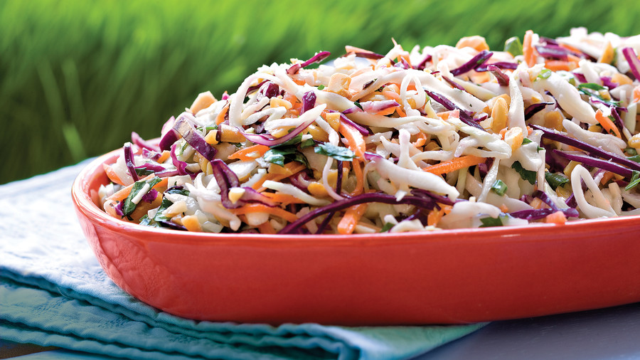 Peanutty Coleslaw Recipe