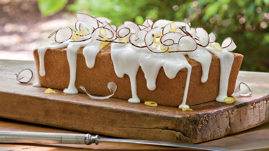Lemon Coconut Pound Cake Loaf Southern Living