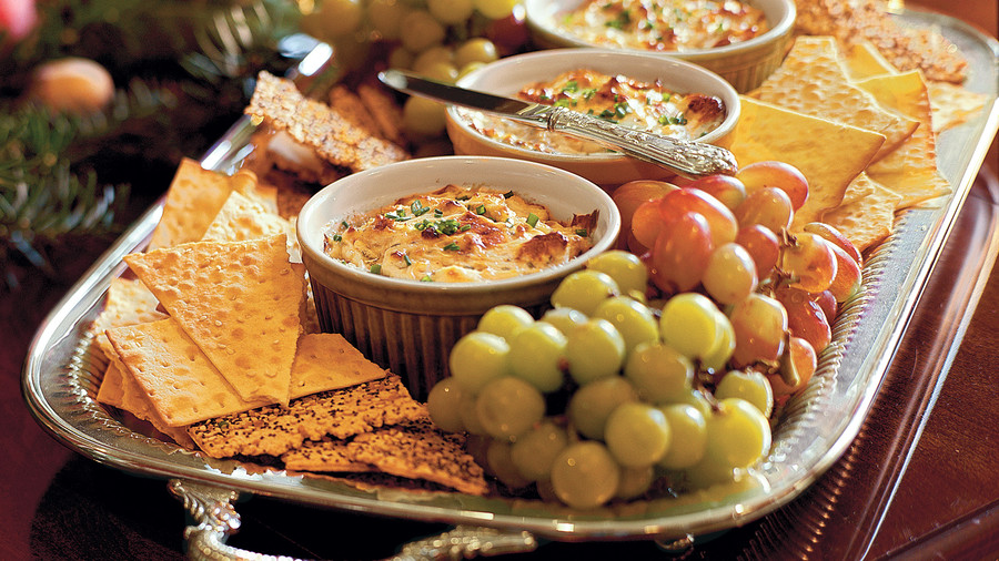 Blue Cheese-Bacon Dip Appetizer