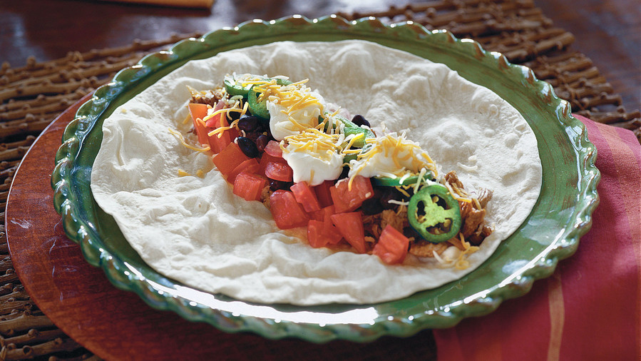 Slow Cooker Recipes: Easy Burritos Recipes