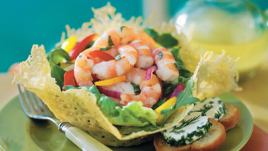 Spring Salad Recipes: Lemon-Basil Shrimp Salad