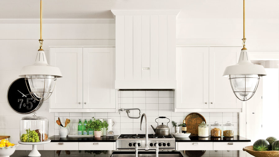 Farmhouse-Style Cabinets