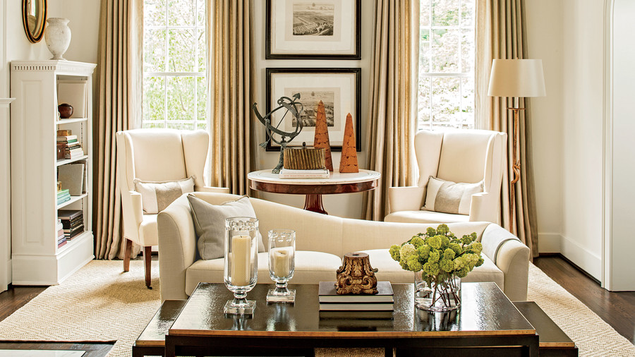 Living room antique furniture Old Invest In Antiques Southern Living 106 Living Room Decorating Ideas Southern Living