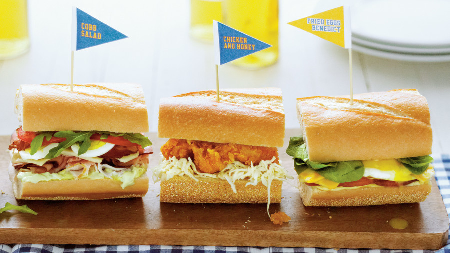 Chicken and Honey Sandwiches