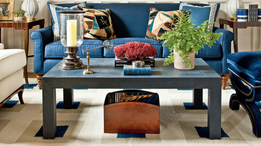 Coffee Table Styling Magnificent Find Your Coffee Table Style  Southern Living Inspiration Design