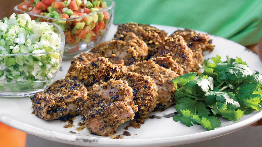 Tortilla-Crusted Pork Recipe