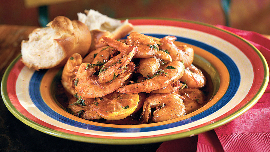 Classic mardi gras recipes southern living new orleans barbecue shrimp forumfinder Images