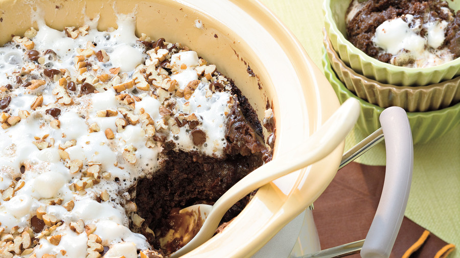Rocky Road Chocolate Cake
