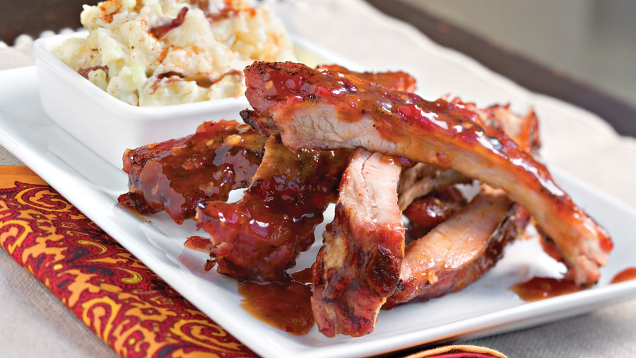 Fourth of July Recipes: Sweet-Hot Baby Back Ribs