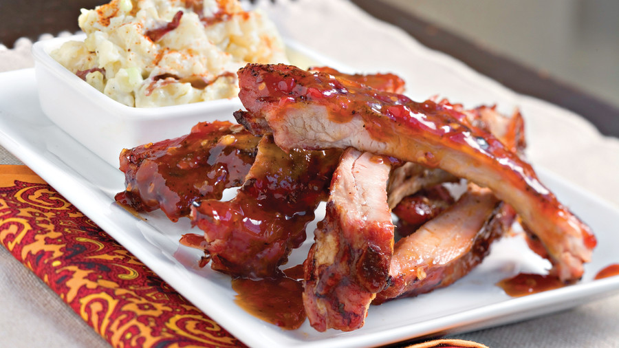 Sweet-Hot Baby Back Ribs
