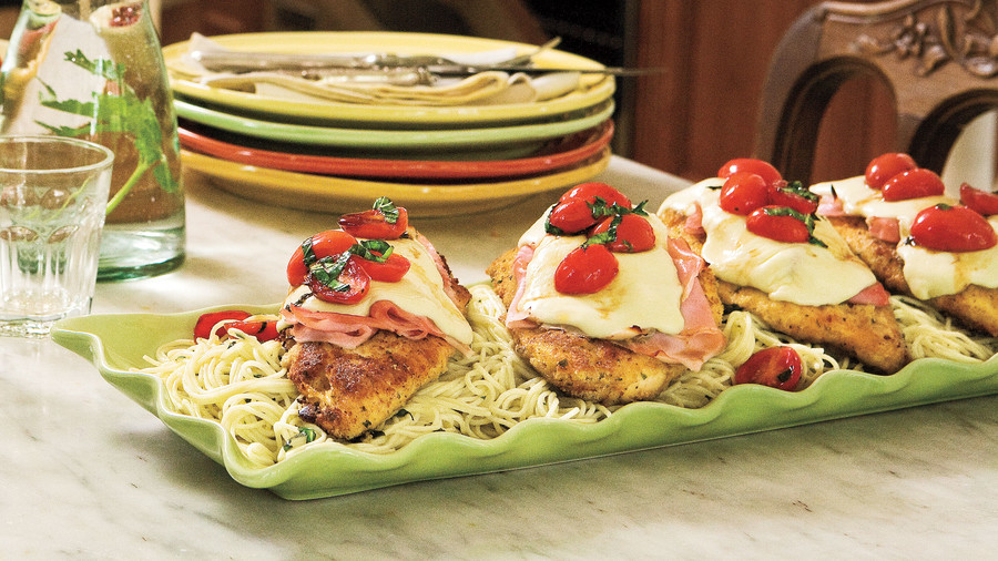 Top-Rated Main Dishes: Pan-Fried Chicken-and-Ham Parmesan