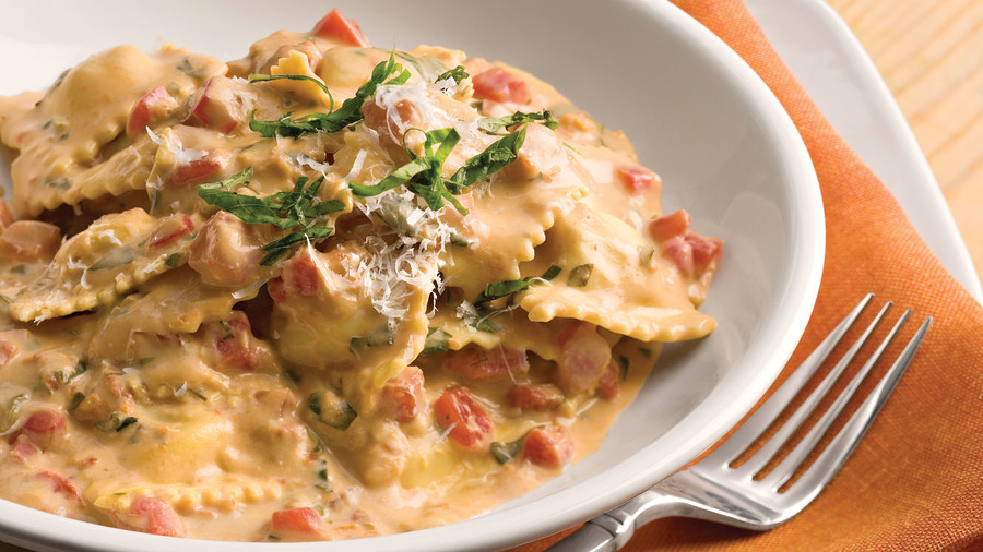 Quick and easy 20 minute dinner recipes southern living quick and easy dinner recipes tuscan pasta with tomato basil cream forumfinder Image collections
