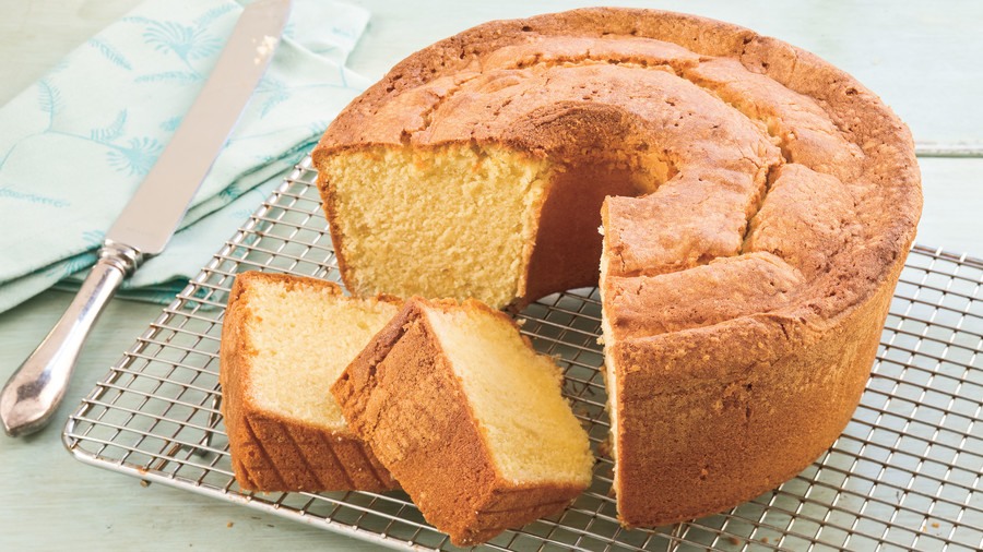 Two-Step Pound Cake