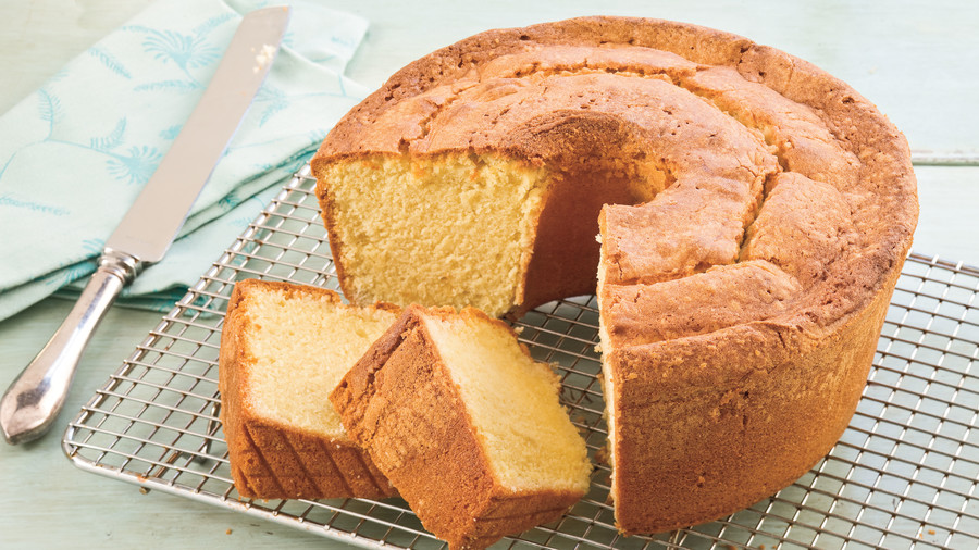 Two-Step Pound Cake Recipe