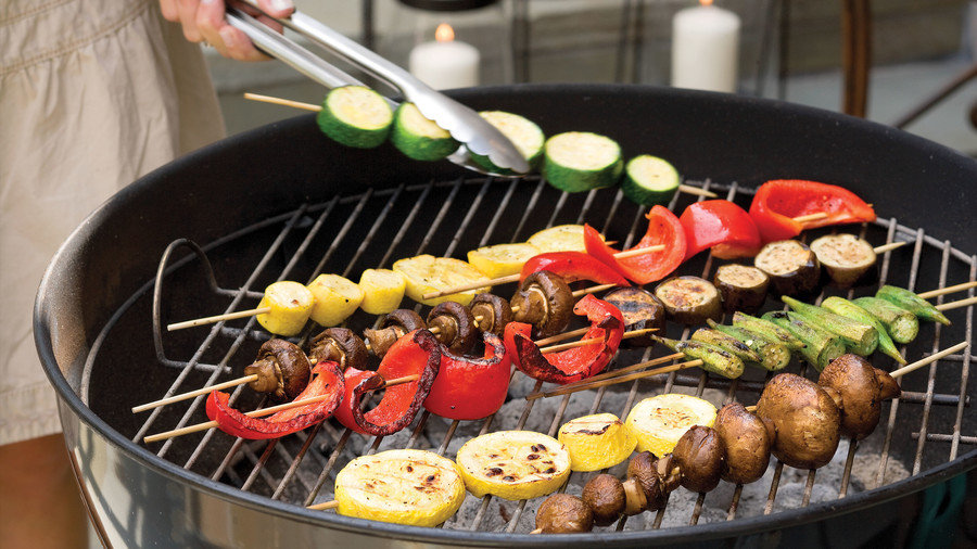 Healthy Food Recipe: Summer Vegetable Kabobs