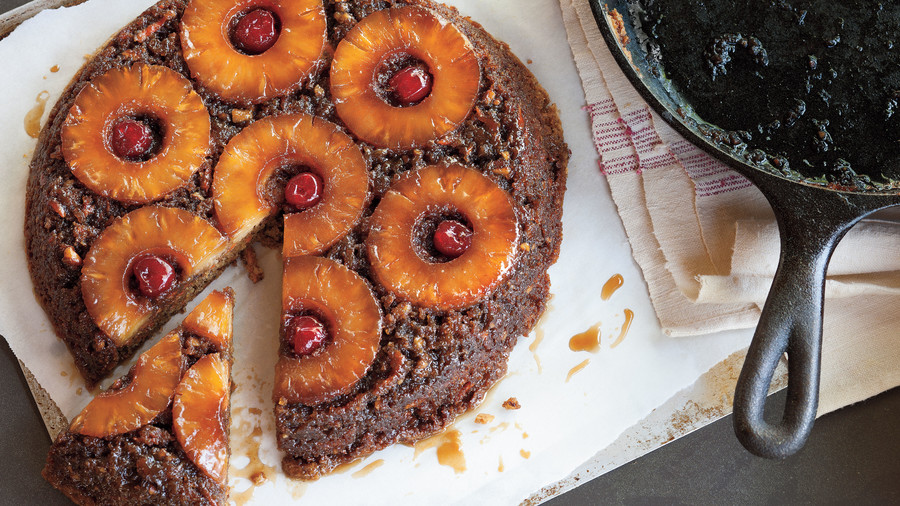 Cast Iron Skillet Recipes: Pineapple Upside-Down Carrot Cake