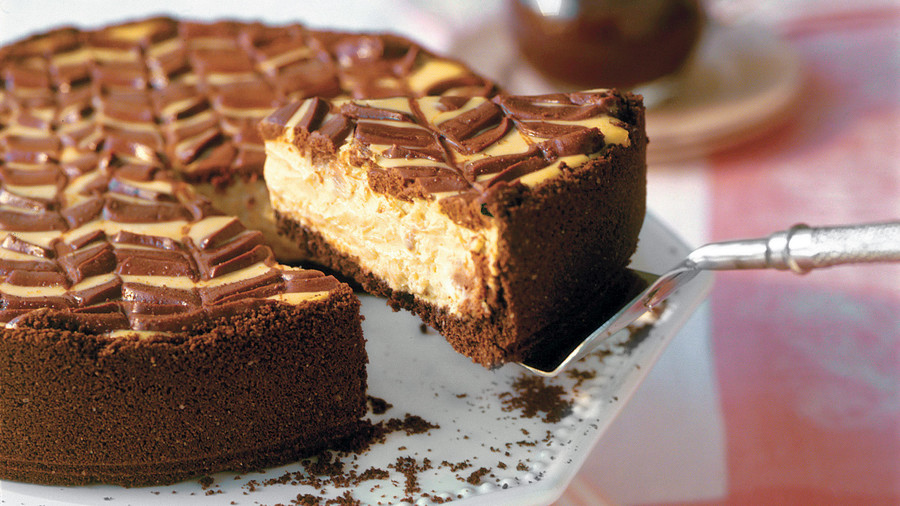 Healthy Desserts: Lightened Chocolate-Coffee Cheesecake