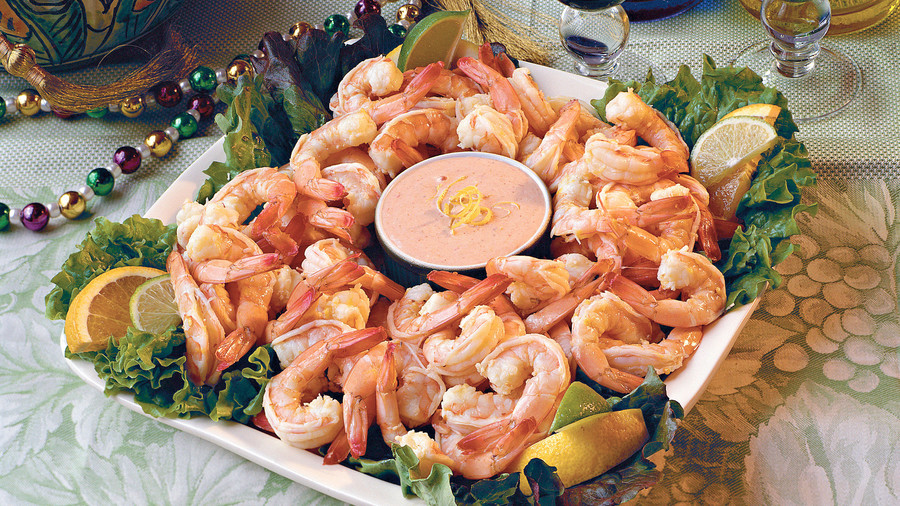Citrus-Marinated Shrimp with Louis Sauce