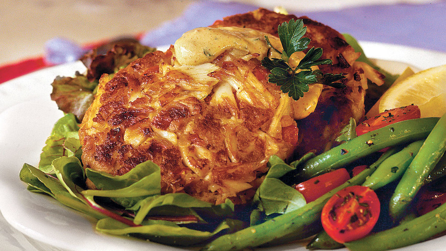 RX_ Crab Cakes With Lemon Rémoulade