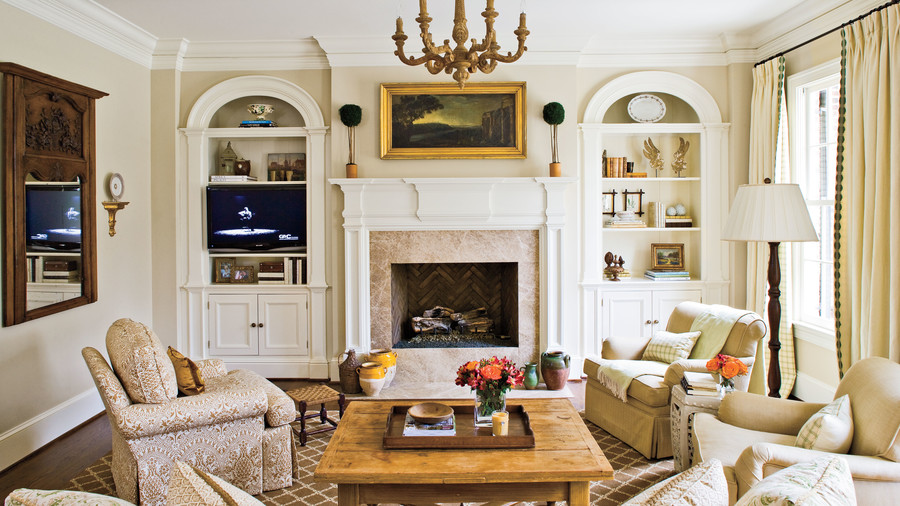 achieve balance - Southern Living Rooms