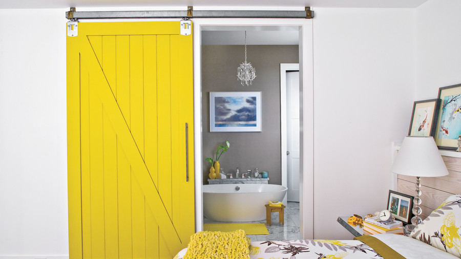 Save Space with a Sliding Door