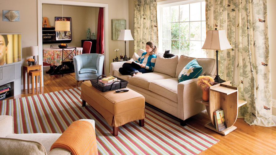 Mix Your Styles. 106 Living Room Decorating Ideas   Southern Living
