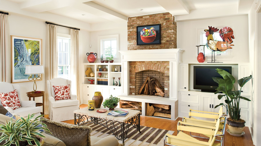 How To Decorate Living Room Table Part - 50: Add Architectural Interest