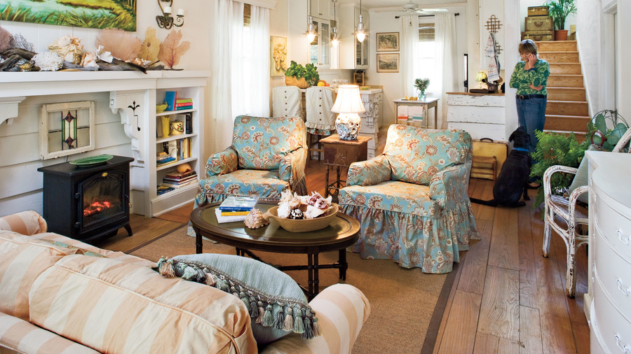 living room design styles. Slipcover in Style 106 Living Room Decorating Ideas  Southern