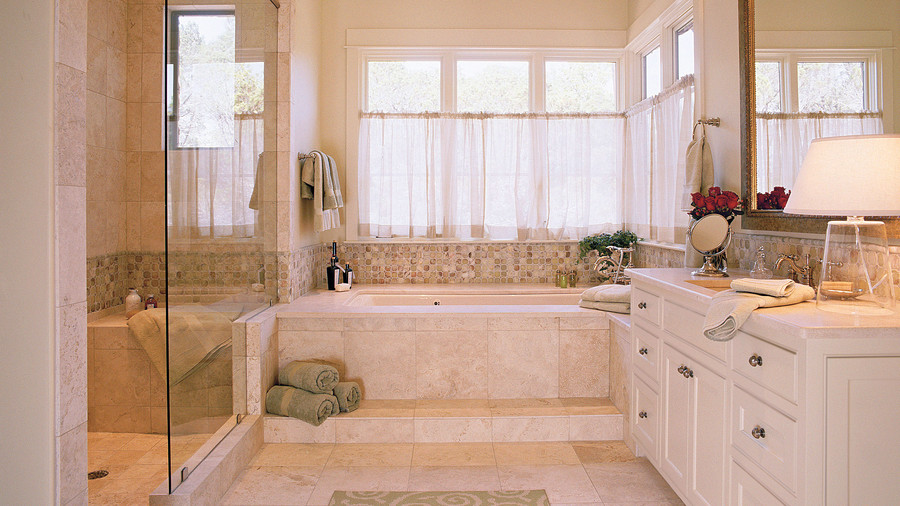 Over The Garden Walk: Master Bathroom Ideas For A Calming Retreat
