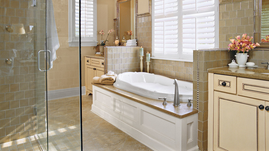 Divide and Conquer. 65 Calming Bathroom Retreats   Southern Living