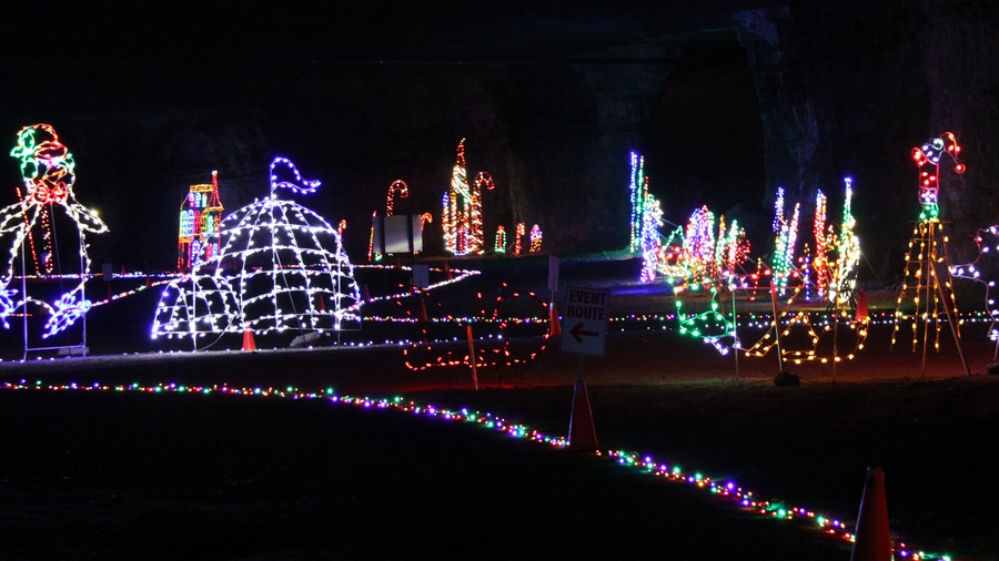 Lights Under Louisville at MEGA Cavern