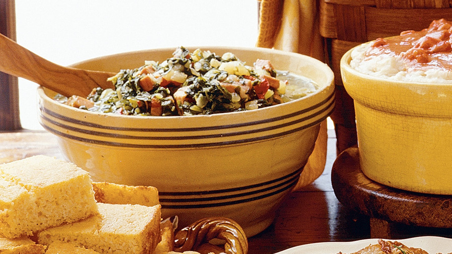 Best thanksgiving side dish recipes southern living quick and easy southern recipes turnip greens stew forumfinder Gallery