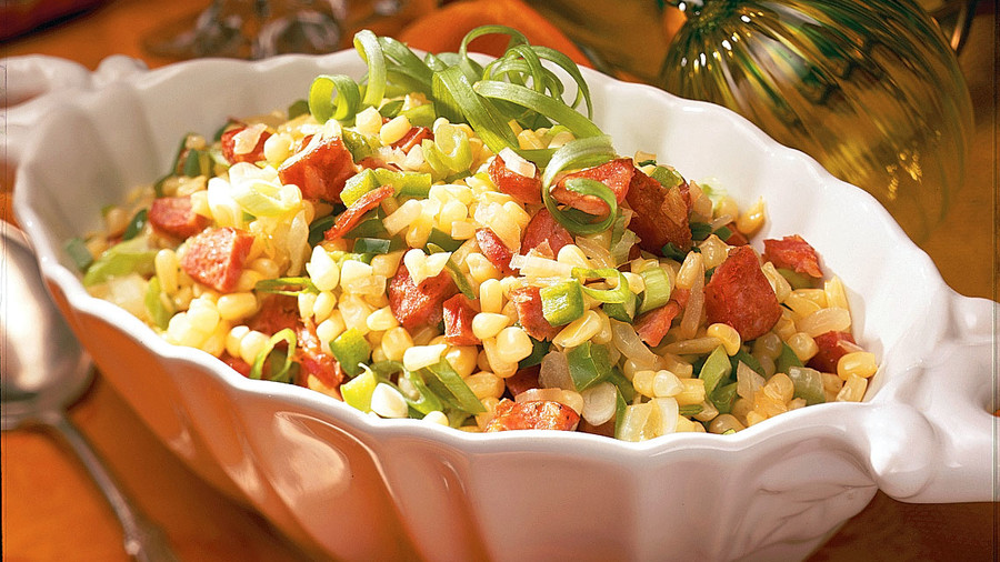 Quick and easy cajun and creole recipes southern living cajun corn maque choux recipes forumfinder Image collections