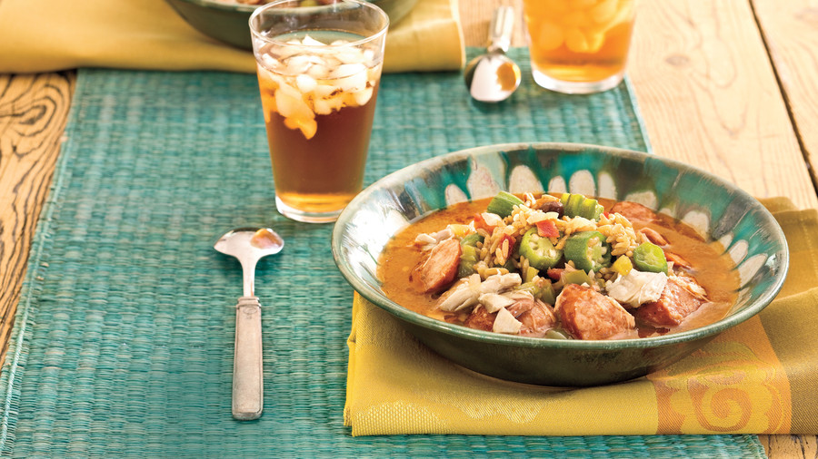 Quick and easy cajun and creole recipes southern living cajun recipes easy chicken gumbo forumfinder Image collections