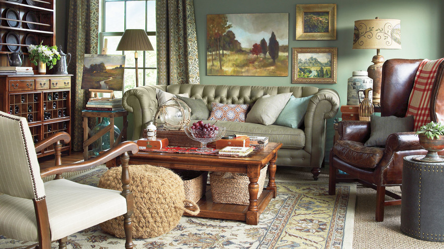create a grown up space - Southern Living Rooms