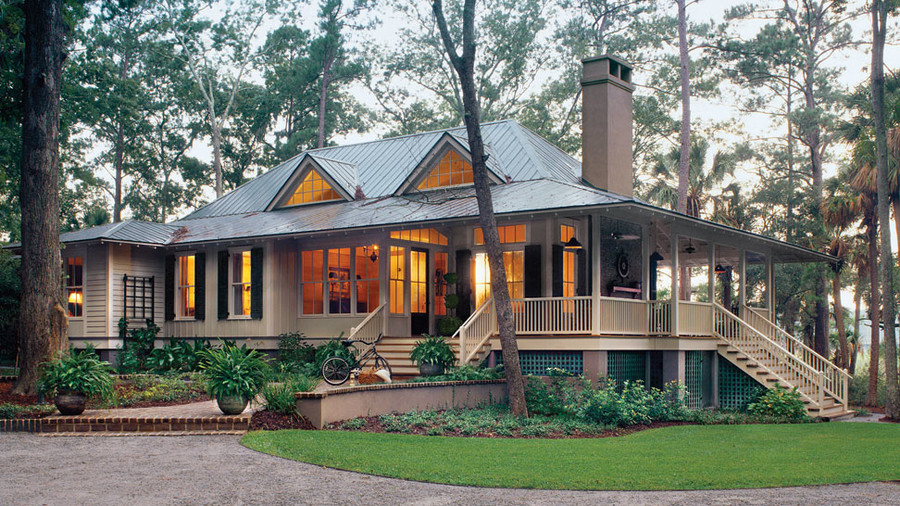 Top 12 best selling house plans southern living for Raised waterfront house plans