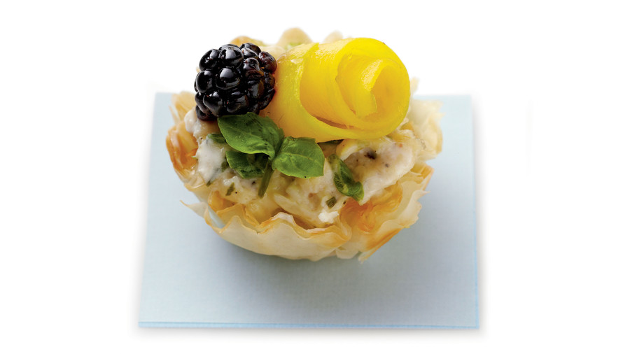 Chicken Salad Tarts Recipe