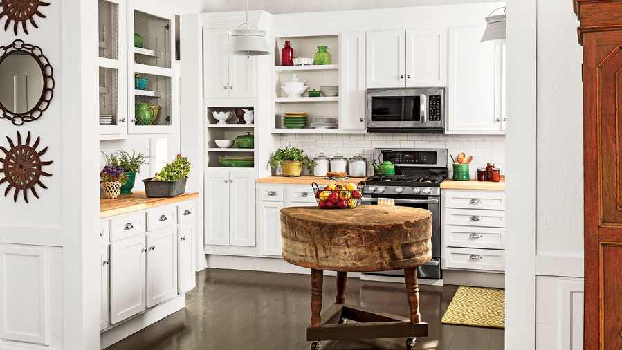 Kitchen inspiration southern living for Southern style kitchen design