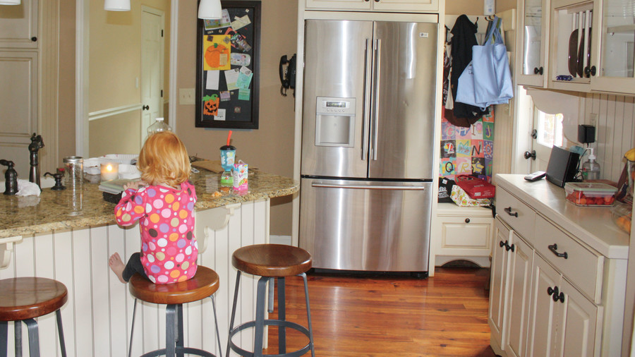 Functional Family-Friendly Remodel Before