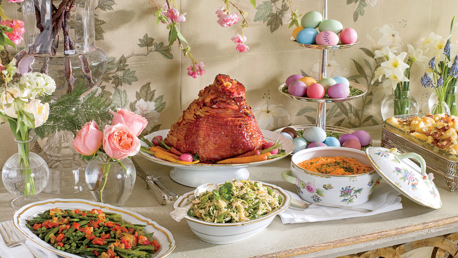 traditional easter dinner recipes southern living