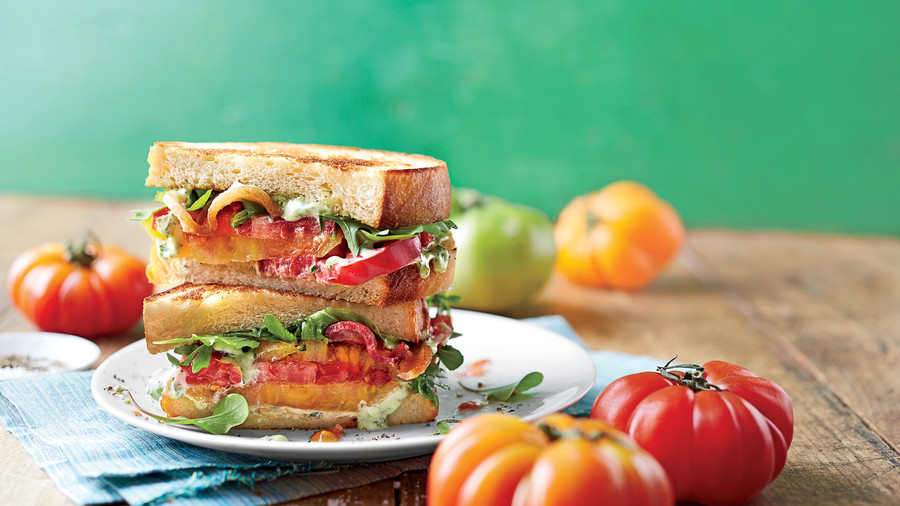 Wednesday: Over-the-Top Tomato Sandwich