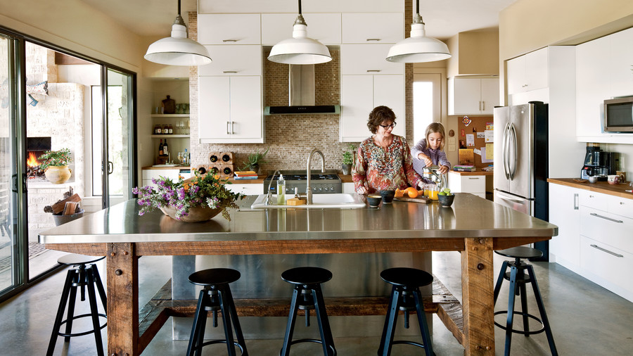 Texas Urban Country Kitchen