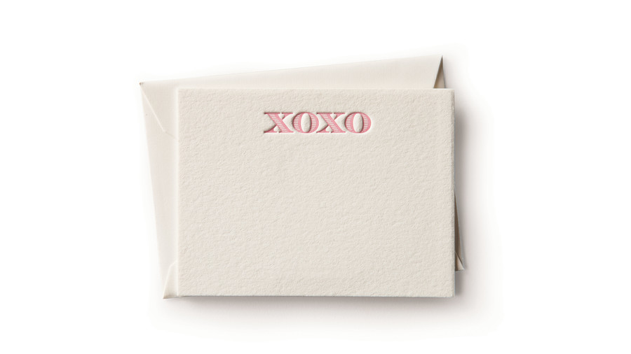 Cards Sent with Hugs and Kisses