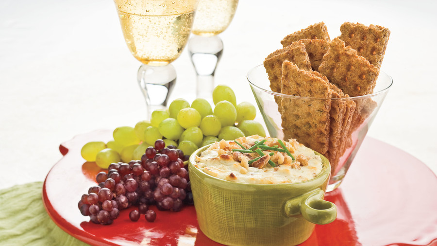 December: Blue Cheese-Bacon Dip
